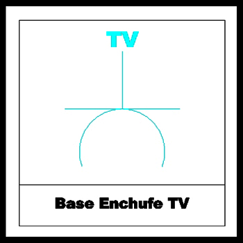 Enchufe TV